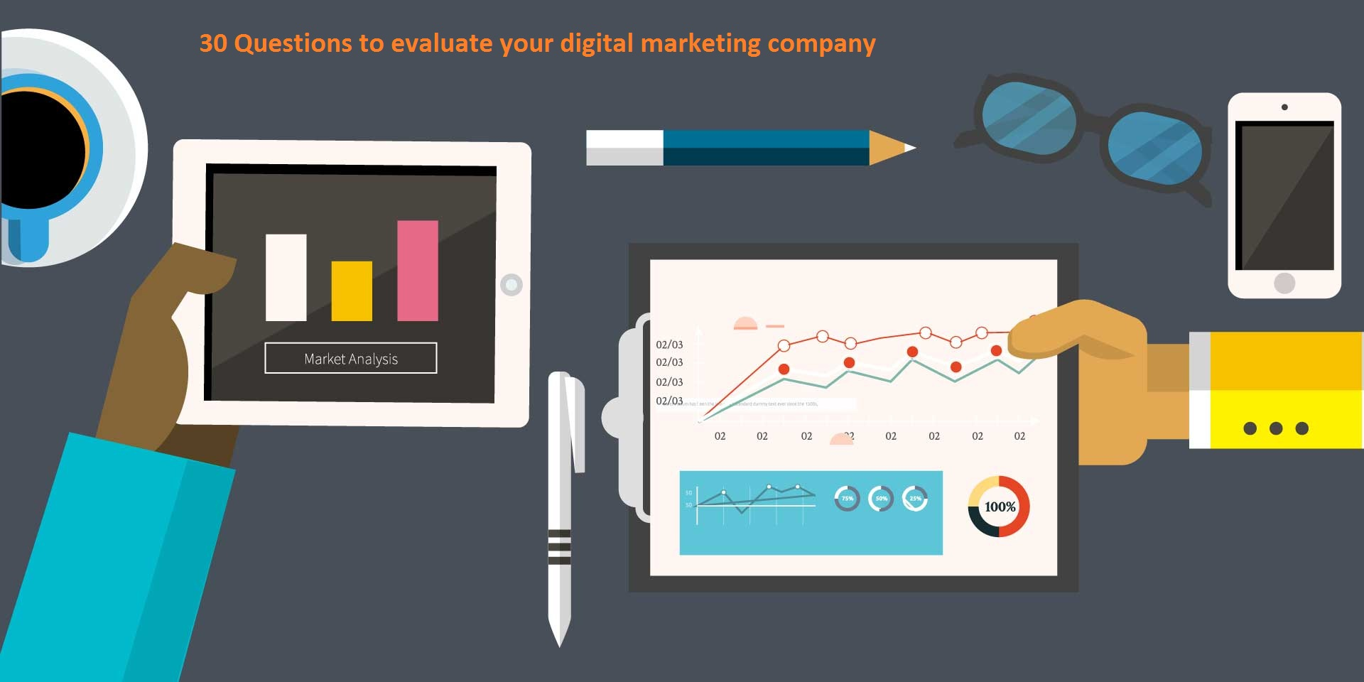 evaluate your digital marketing company