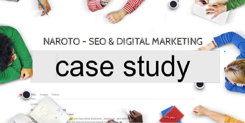 Naroto - SEO & Digital Marketing Case Study