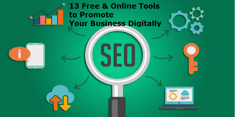 13 Free & Online Tools to Promote Your Business